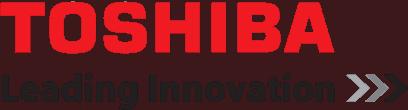 Toshiba Leading Innovation Logo Rectangular