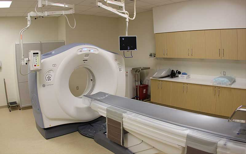 Modern CT scanner